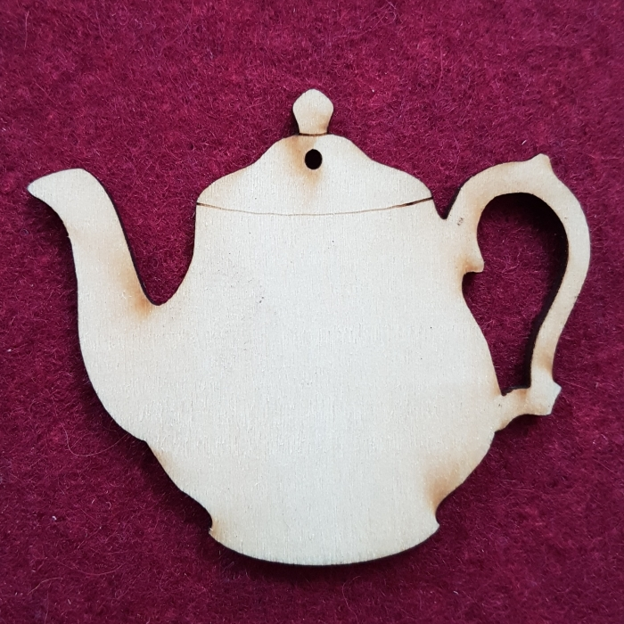 Figurina din lemn - Ceainic 0
