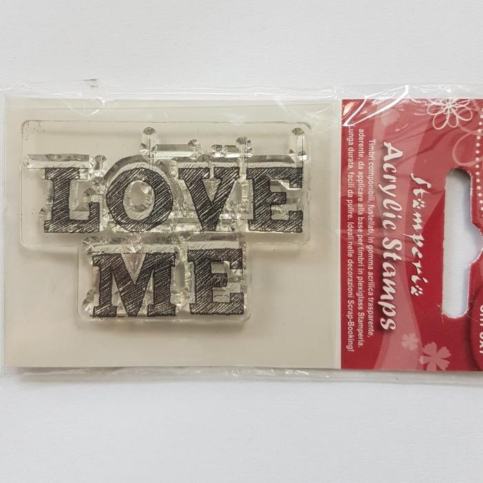 Stampila silicon - Love Me 0