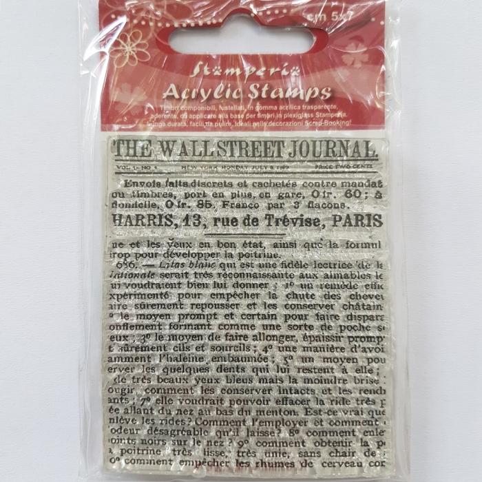 Stampila silicon - The Wallstreet