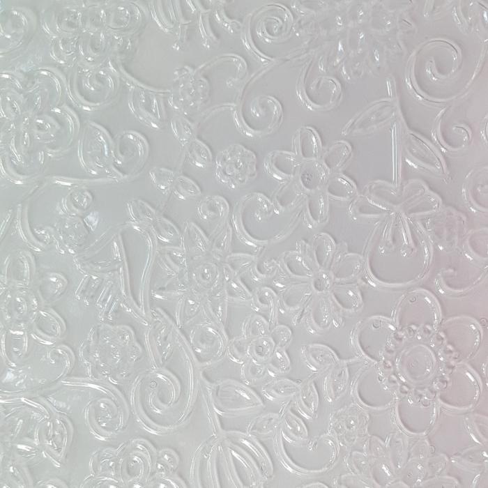 Foaie texturata - Floral 3 1