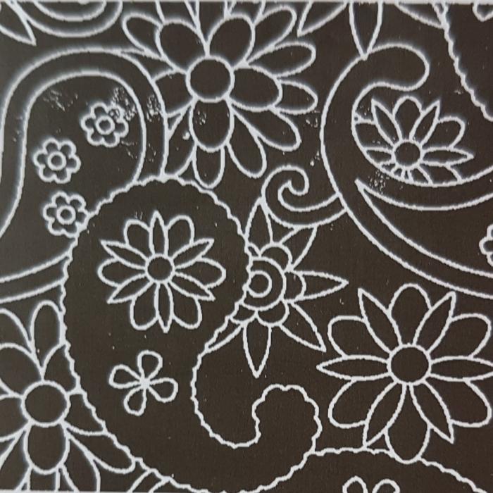 Foaie texturata - Paisley 0