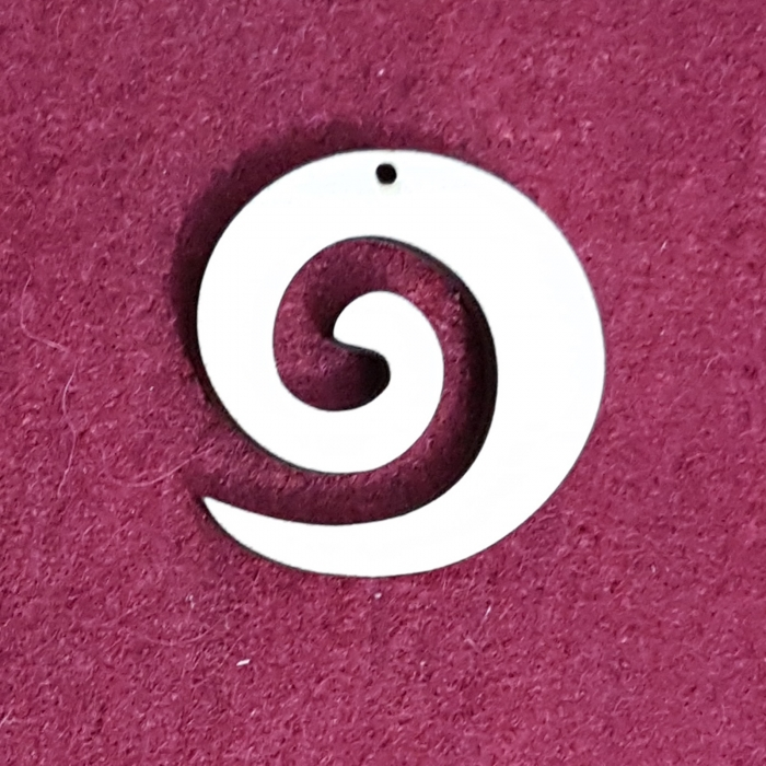 Decoratiune din lemn in forma de spirala 1