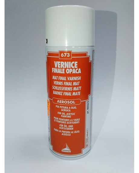 Vernis final mat aerosol 400 ml