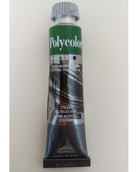 Vopsea acrilica chrome oxide green (20 ml)
