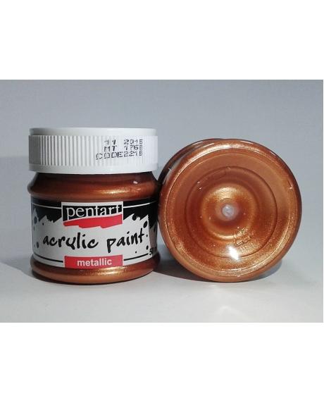 Vopsea acrilica bronz (50 ml) 0