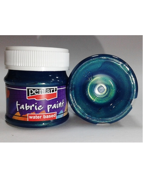 Vopsea textile albastru verzui 50 ml 0