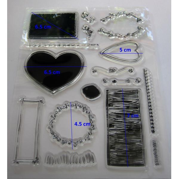 Stampila silicon Poveste de dragoste 1