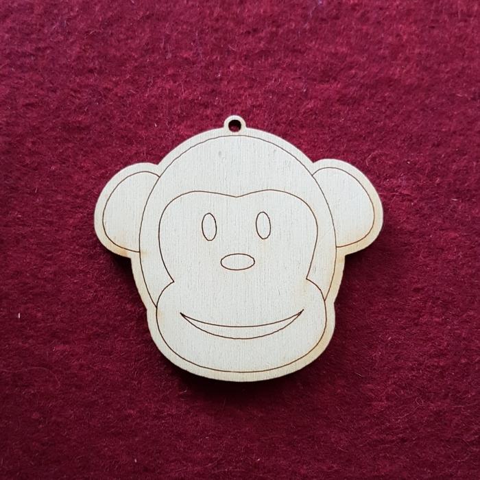 Figurina din lemn - Maimuta 0