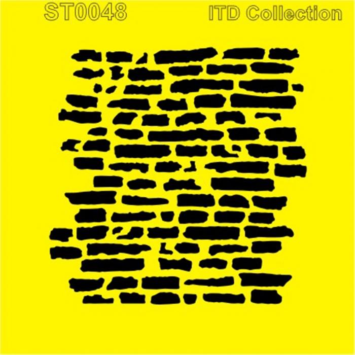 sablon-flexibil-zid-vechi-16x16cm-itd-collection-st0048b 0