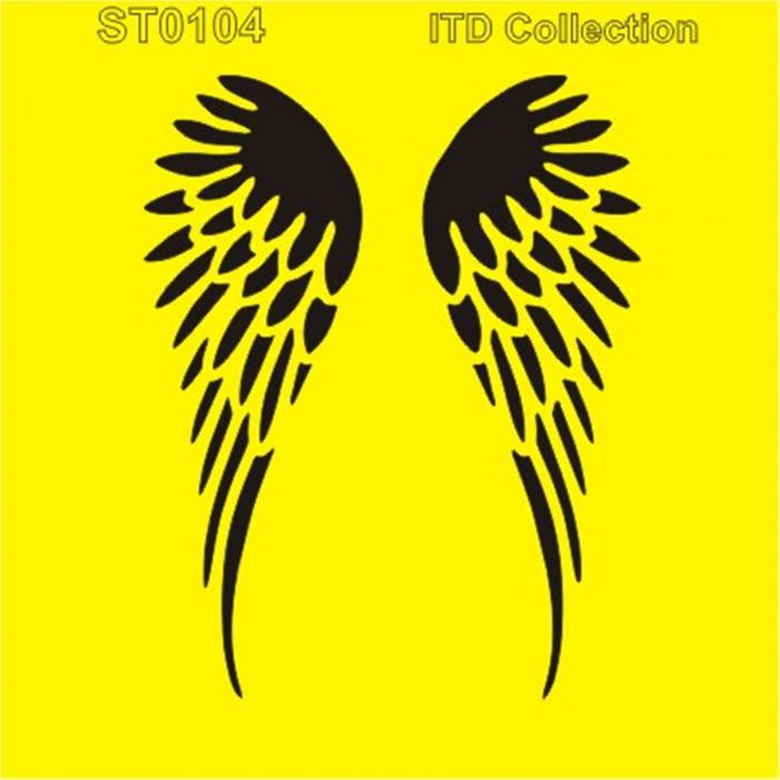 sablon-flexibil-aripi-16x16cm-itd-collection-st0104a 0