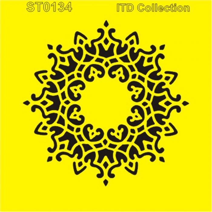 sablon-flexibil-mandala-16x16cm-itd-collection-st0134a 0