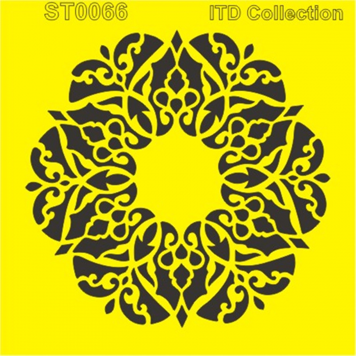sablon-flexibil-mandala-16x16cm-itd-collection-st0066B 0