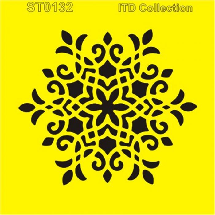 sablon-flexibil-mandala-16x16cm-itd-collection-st0132a 0