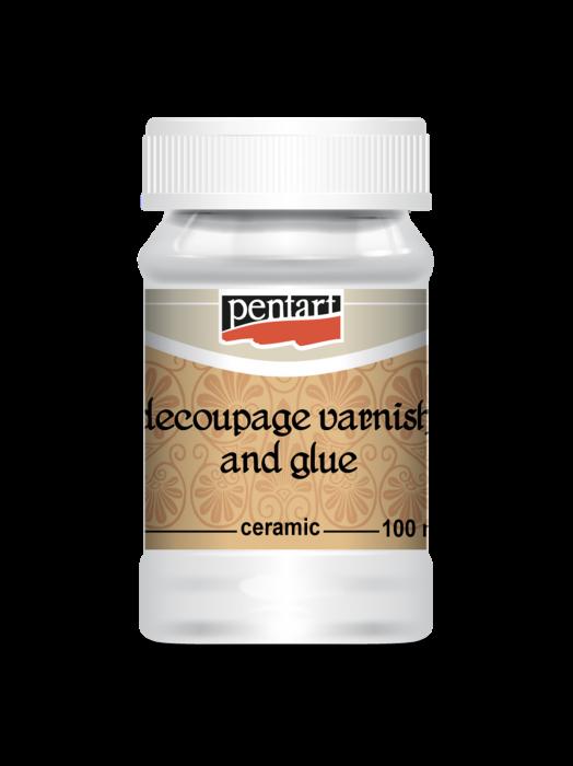 Adeziv decoupage pt ceramica 100 ml 0