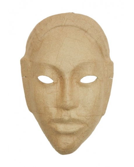 Masca venetiana din carton africana 0