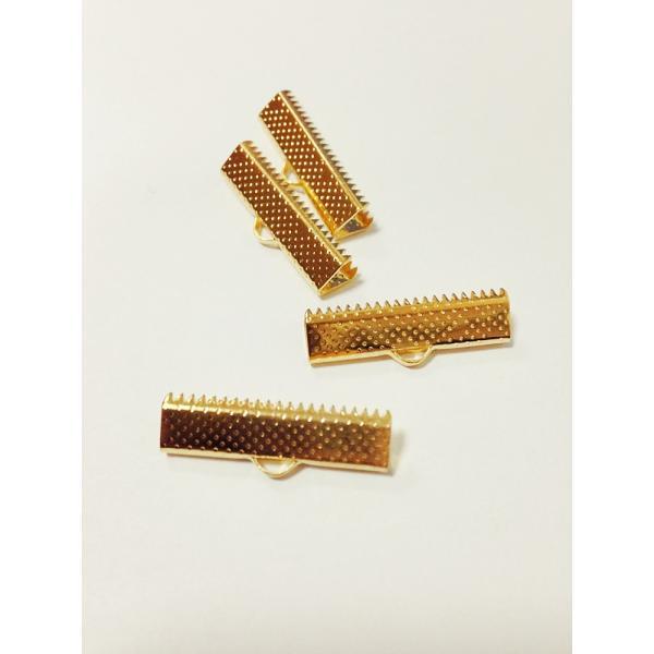 Capat panglica 20 mm (10 buc/set) auriu 0