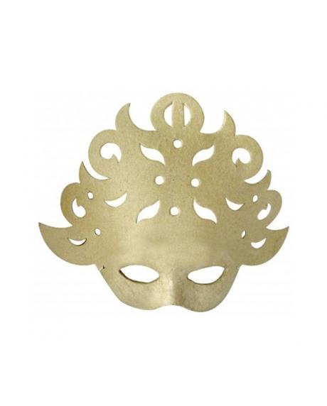 Masca venetiana din carton presat baroc 0
