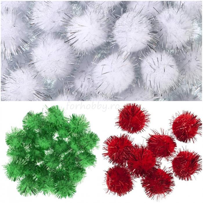 pompoane-plusate-cu-glitter-colorate-daco-ad279 0