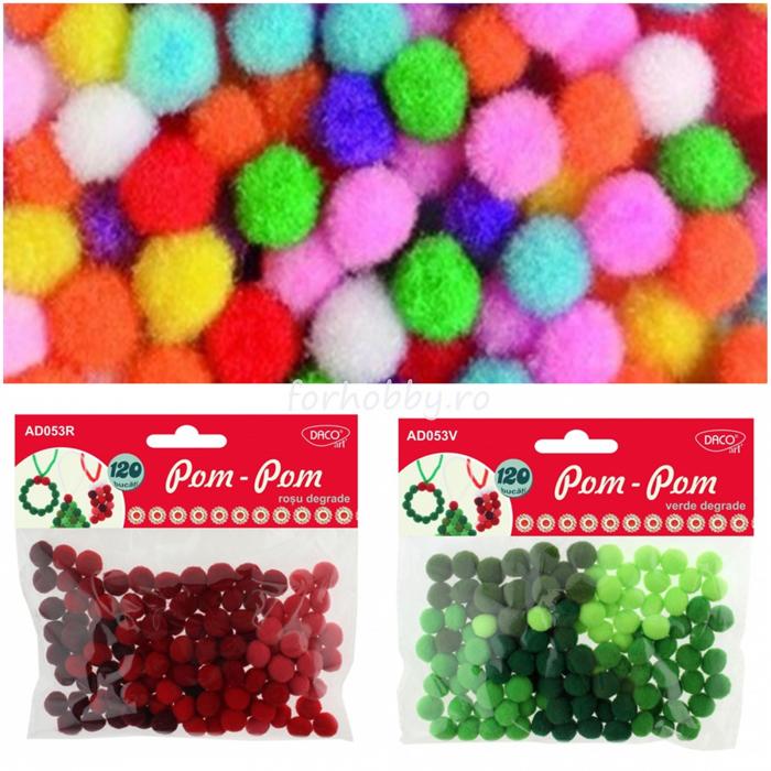 pompoane-plusate-colorate-10mm-200bc-daco-ad014 0