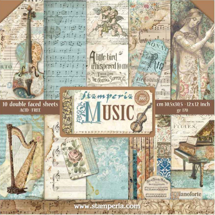 album-scrapbooking-music-sbbl48-stamperia 10
