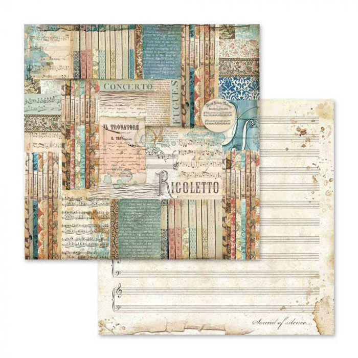 album-scrapbooking-music-sbbl48-stamperia 2