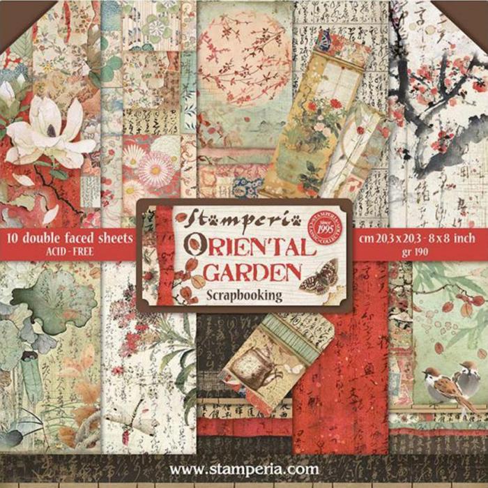 album-scrapbooking-oriental-garden-sbbl58-stamperia 0