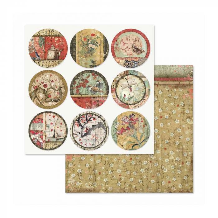 album-scrapbooking-oriental-garden-sbbl58-stamperia 9