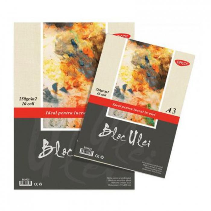 bloc-pictura-ulei-250-g-daco 0