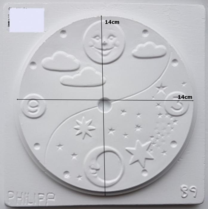Matrita pentru turnat - Cadran ceas 1