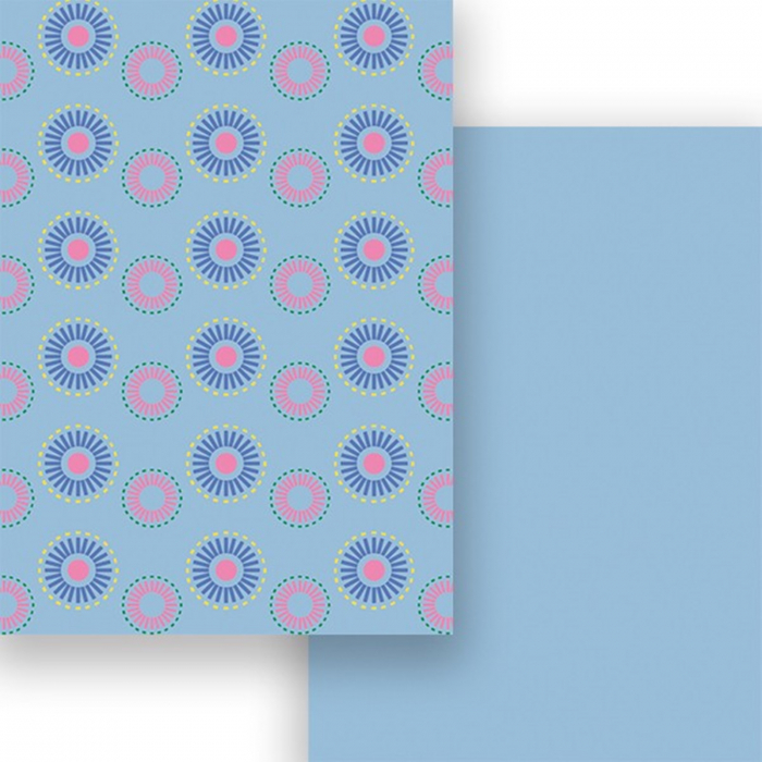 Carton colorat cu 2 fete A4 Marpa Jansen - Rozete 0
