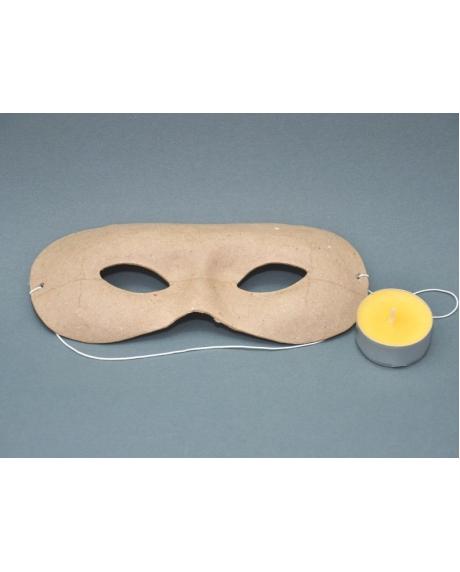 Masca venetiana din carton presat 0