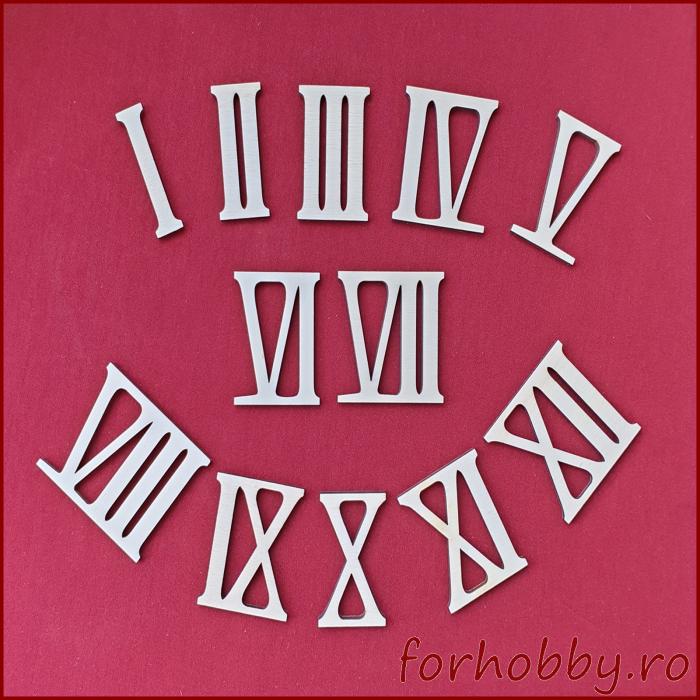 set-cifre-romane-din-lemn-pentru-ceas 0