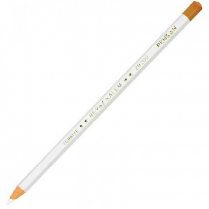 Creion pentru textile alb 0