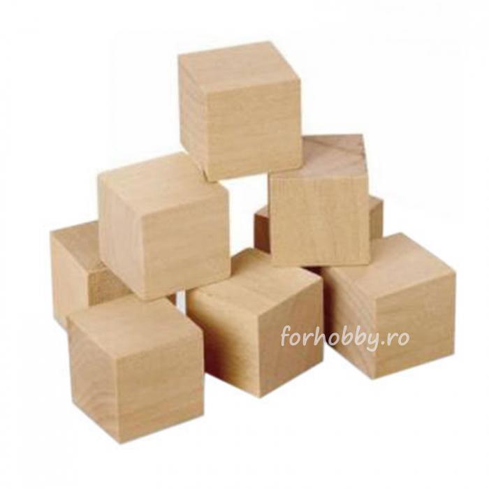 Pătrățele lemn 1,5 x 1,5 cm 0