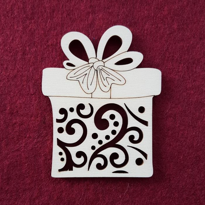 Figurina din lemn - Cutiuta cadou 0