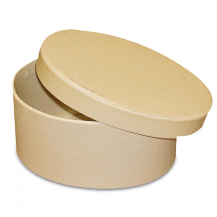 cutie-ovala-din-carton-12.5x8.5x6.5cm-stamperia-7630 1