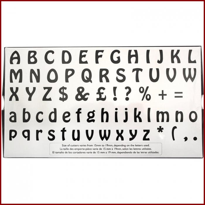 Decupatoare - Alfabet 3