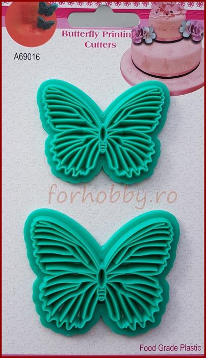 Decupator imprimeu dantela - Fluture 1