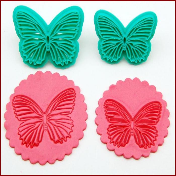Decupator imprimeu dantela - Fluture 0