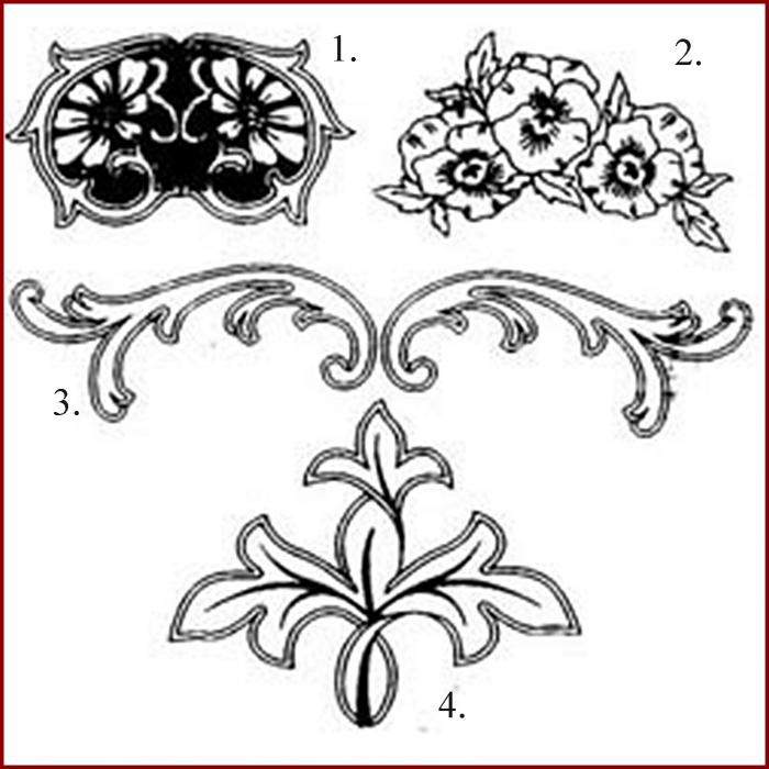 Decupator - Ornamente panselute 1