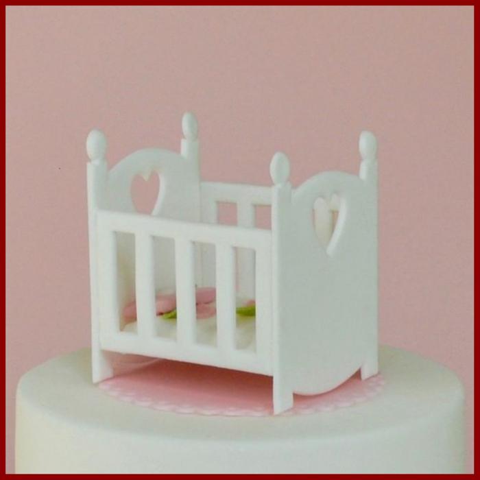 Decupator simplu - Patut bebe 2