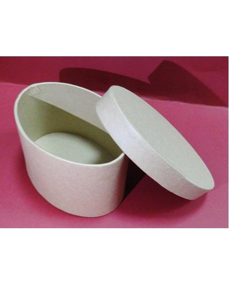 cutie-ovala-din-carton-12.5x8.5x6.5cm-stamperia-7630 0