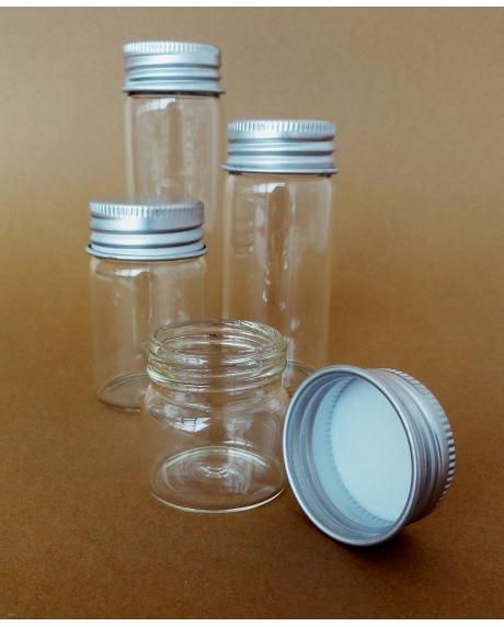 Sticluta cu dop filetat 30x30 mm [0]