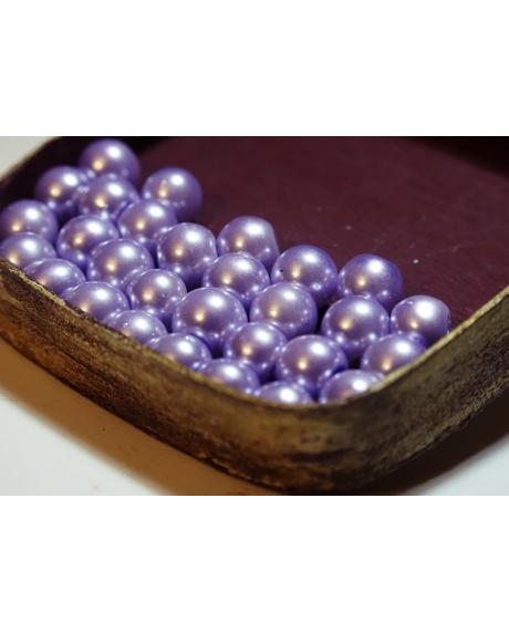 Perle 8 mm lila deschis 0