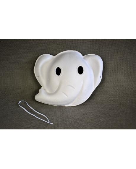 Masca din hartie reciclata presata elefant 0