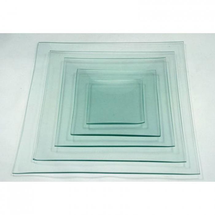 farfurie-sticla-decorativa-patrata-10-15-20-25-30cm 0