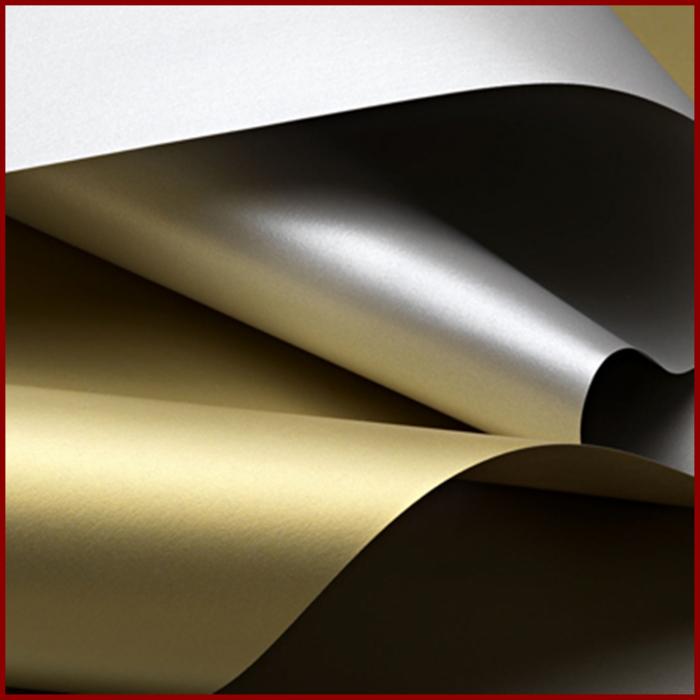 Carton metalizat A4 250 g - Aur/Argint -Special Events 0