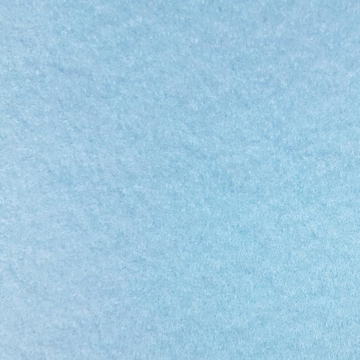 Fetru A4, autoadeziv, albastru pal 0