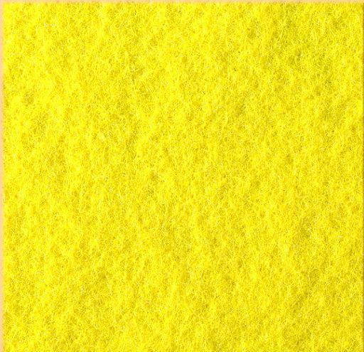 Fetru coala 40x50 cm galben soare 3 mm grosime 0