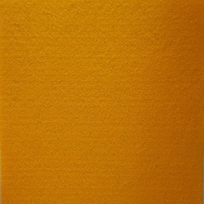 Pasla (fetru) 2mm 100 x 100 cm - Galben Soare 0